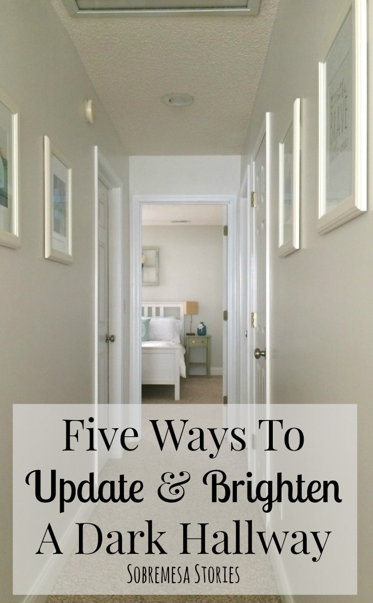Five ways to update and brighten a dark hallway Best paint to use on walls